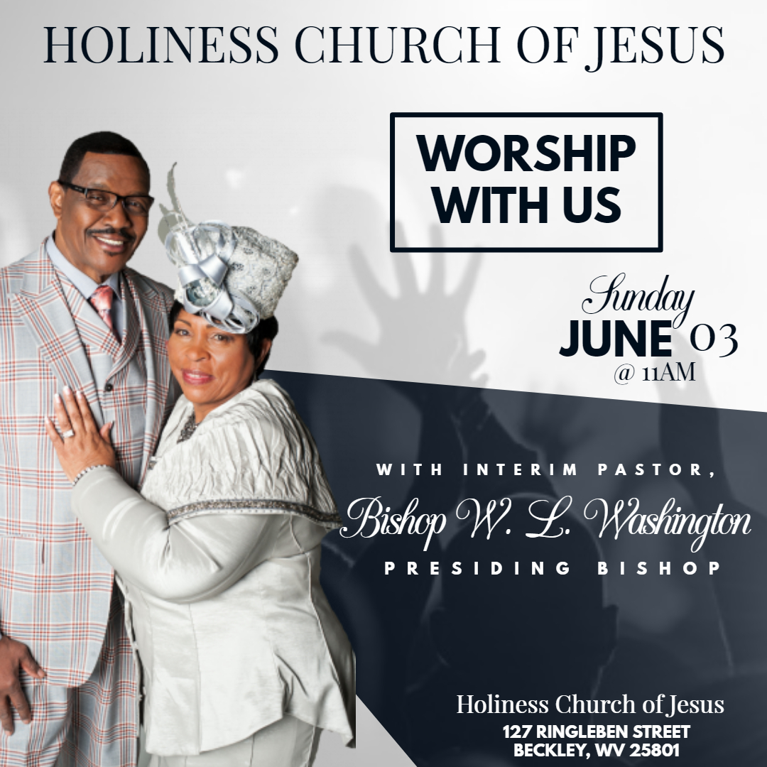 Flyer for June 3 worship service